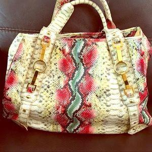 ⭐️Big Buddha multicolored snakeskin purse!⭐️